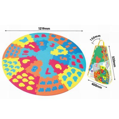 Tapis De Puzzle En Mousse Pour B B Partir De 10 Mois Axiom 4339 21 Pi Ces Puzzles Educatifs