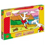 Puzzle  Alexander-0901 Pièces XXL - La Chèvre Koziołek Matołek