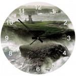 Art-Puzzle-4140 Puzzle Horloge - Plisson, Phare des Poulains (Pile non fournie)