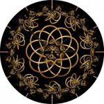 Art-Puzzle-4147 Puzzle Horloge - Danse avec la Nuit (Pile non fournie)