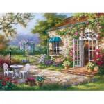 Puzzle  Art-Puzzle-4177 Sung Kim : Terrasse au Printemps II
