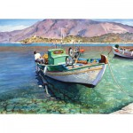 Puzzle  Art-Puzzle-4186 Bateau de Pêche : Le Panormitis