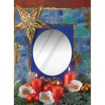 Art-Puzzle-4262 Puzzle Miroir - Bonheur aux Chandelles