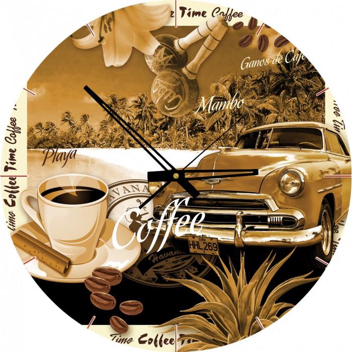 Puzzle Horloge - Un Café ? (Pile non fournie)