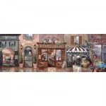 Puzzle  Art-Puzzle-4420 James Lee : Cafe Walk I