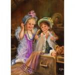 Puzzle  Art-Puzzle-4461 Beauties in the Attic