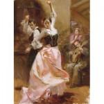 Puzzle  Art-Puzzle-4600 Pino Daeni : Danse à Barcelone