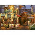Puzzle  Art-Puzzle-4632 Restaurant - Salon de Thé : Au Comte Roger