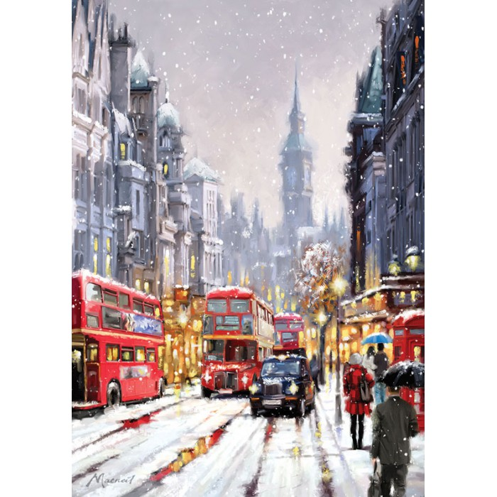 Whitehall in Snow