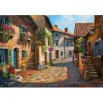 Puzzle  Art-Puzzle-4709 Sung Kim : Rue de Village