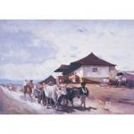 Puzzle  Art-Puzzle-80522 Le Chariot à Boeufs