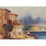 Puzzle  Art-Puzzle-81066 Résidences Turques dans le Bosphore