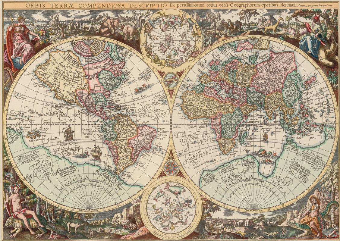Puzzle carte du monde art puzzle 4631 1500 pi ces puzzles for Art du monde