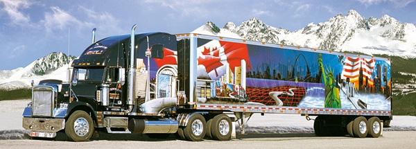 puzzle camion am ricain castorland 22014 t4 220 pi ces puzzles voitures motos et camions. Black Bedroom Furniture Sets. Home Design Ideas