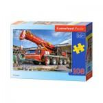 Puzzle  Castorland-010066 Camion Grue