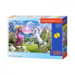 Puzzle  Castorland-018024 Mon Amie la Licorne