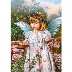 Puzzle  Castorland-018208 Butterfly Dreams