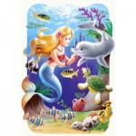Puzzle  Castorland-03273 La petite sirène