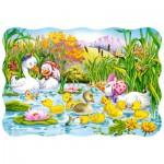Puzzle  Castorland-03341 Le vilain petit canard