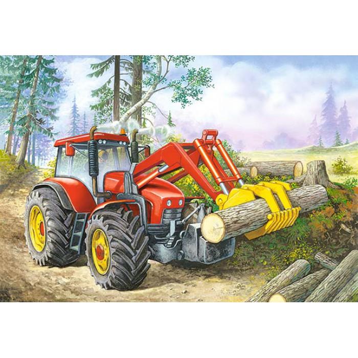 Tracteur du Forestier