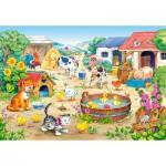 Puzzle  Castorland-06663 La ferme