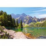 Puzzle  Castorland-102235 Lac Morskie Oko Tatras, Pologne