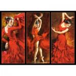 Puzzle  Castorland-103119 Crimson Dancers