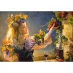 Puzzle  Castorland-103157 Un Bouquet de Plaisirs