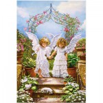 Puzzle  Castorland-103225 Angelic Friends