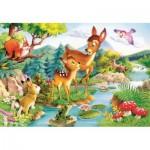 Puzzle  Castorland-12725 Bambi