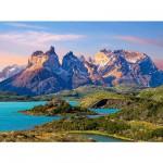Puzzle  Castorland-150953 Parc national Torres del Paine en Patagonie, Chili
