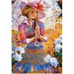 Puzzle  Castorland-151363 Femme à l'Ombrelle
