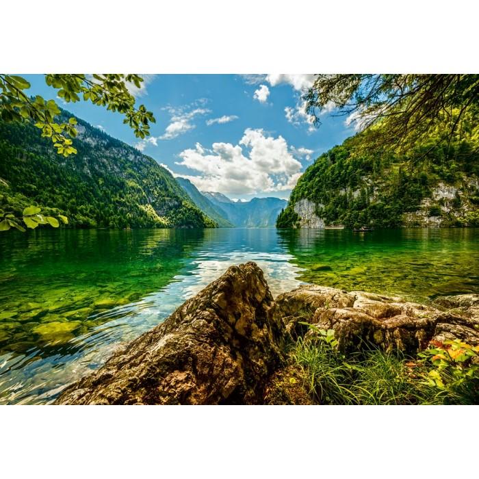 Lake Koenigsee in Germany