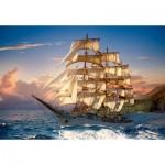Puzzle  Castorland-151431 Sailing At Sunset