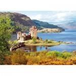 Puzzle  Castorland-200016 Château écossais