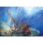 Puzzle  Castorland-200252 Epave marine