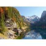 Puzzle  Castorland-200368 Autriche : Lac de Gosau
