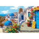 Puzzle  Castorland-200603 Spring in Santorini