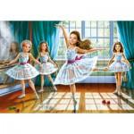 Puzzle  Castorland-27231 Les petites ballerines
