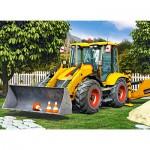 Puzzle  Castorland-30064 Bulldozer