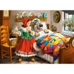 Puzzle  Castorland-30118 Le Petit Chaperon Rouge