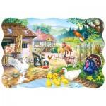 Puzzle  Castorland-3310 La ferme
