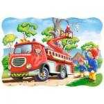 Puzzle  Castorland-3358 Le Sauvetage du Chaton