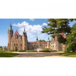 Puzzle  Castorland-400027 Pologne, Moszna : Château  Zamek