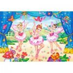 Castorland-40056 Maxi Puzzle : Les petites ballerines
