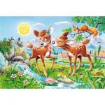 Puzzle  Castorland-40094 Pièces XXL - Biches