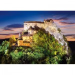 Puzzle  Castorland-51489 Château Orava, Slovaquie