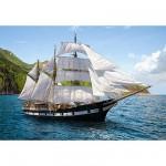 Puzzle  Castorland-51496 Croisière en voilier
