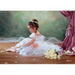 Puzzle  Castorland-51571 Jolie Ballerine
