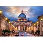 Puzzle  Castorland-52349 Basilique Saint-Pierre de Rome